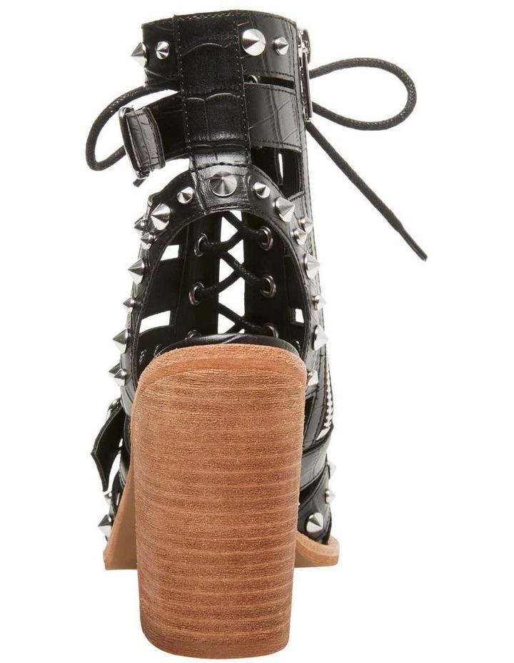 Cecilia-S Black Croco Sandal image 3