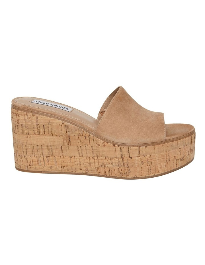 Desiree Camel Suede Sandal image 1