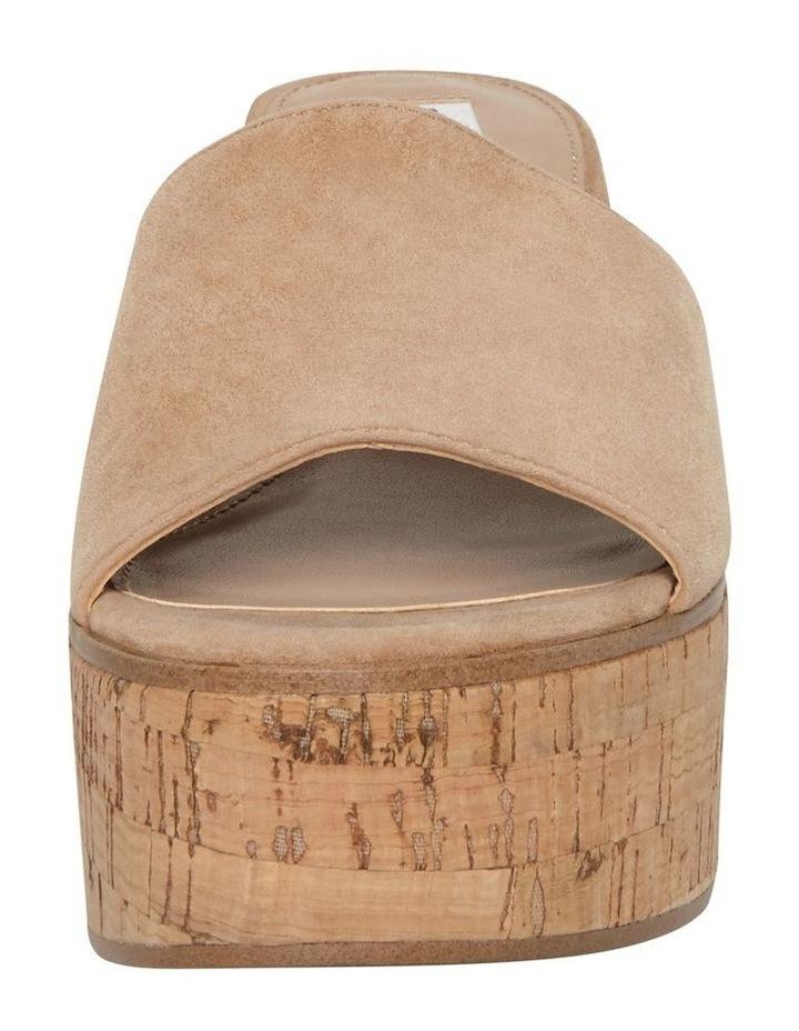 Desiree Camel Suede Sandal image 2