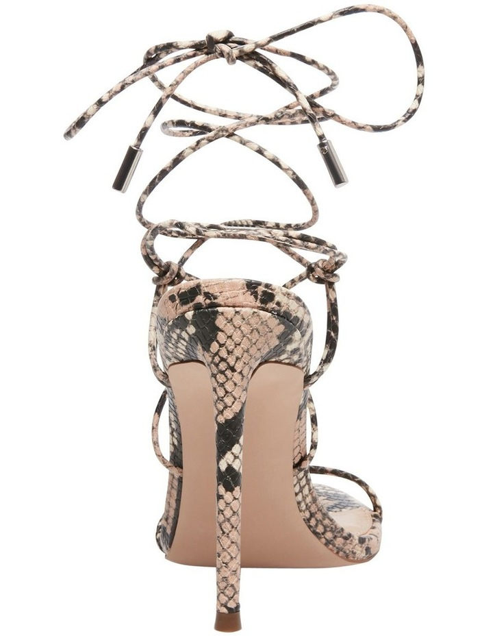 Badgirl Beige Snake Sandal image 4