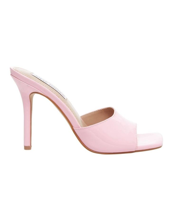 Signal Pink Patent Sandal image 1