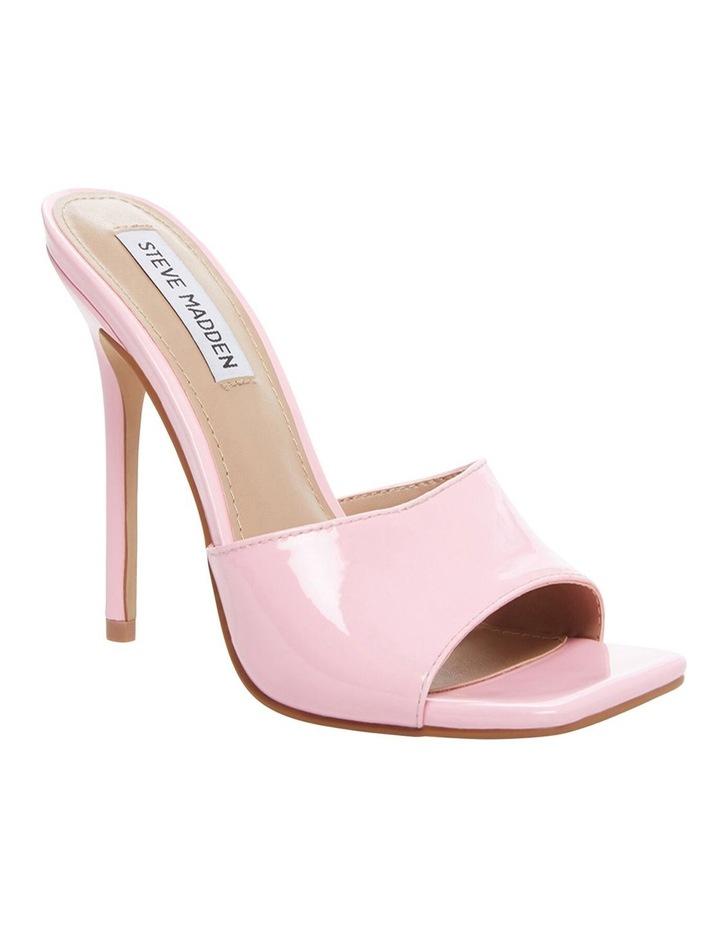 Signal Pink Patent Sandal image 2