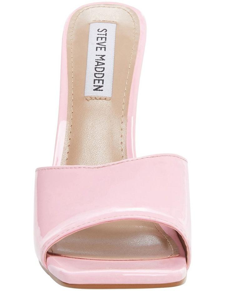 Signal Pink Patent Sandal image 3