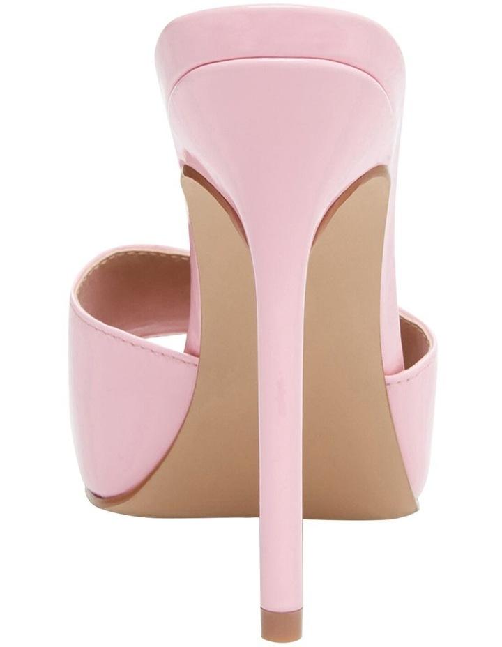 Signal Pink Patent Sandal image 4