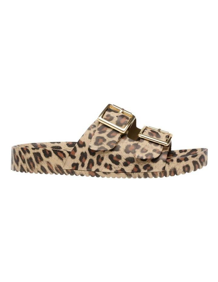 Evanne Leopard Flat Sandal image 1