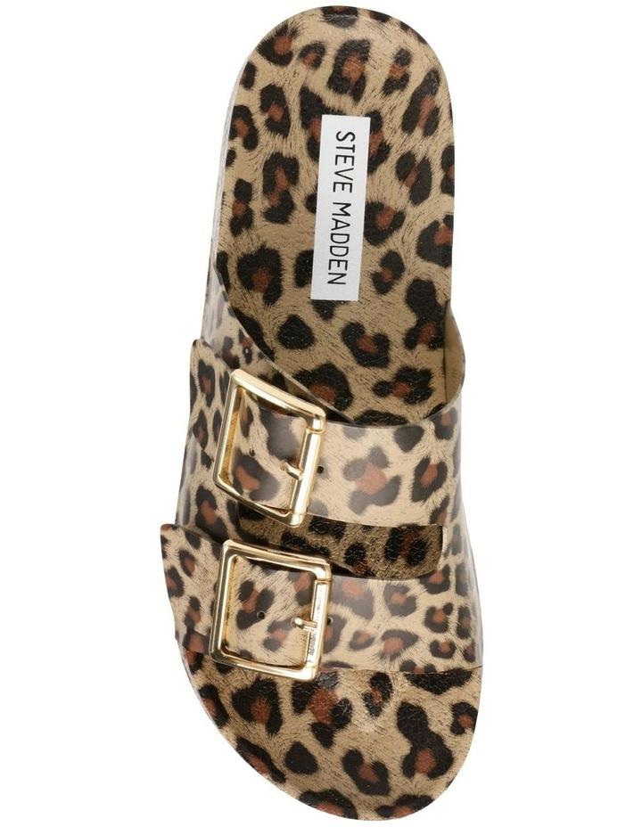 Evanne Leopard Flat Sandal image 2