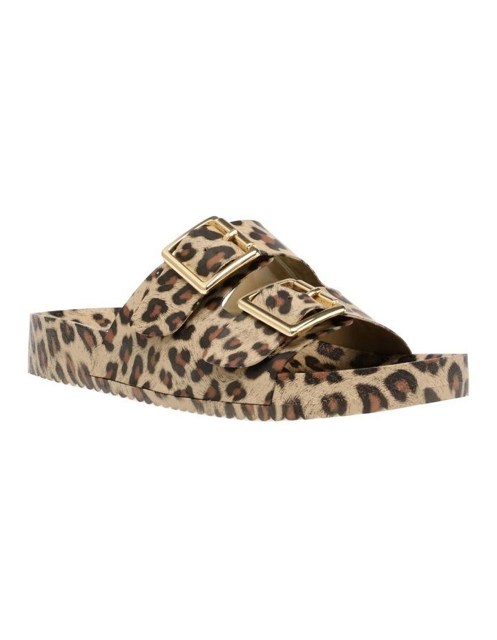Evanne Leopard Flat Sandal image 3