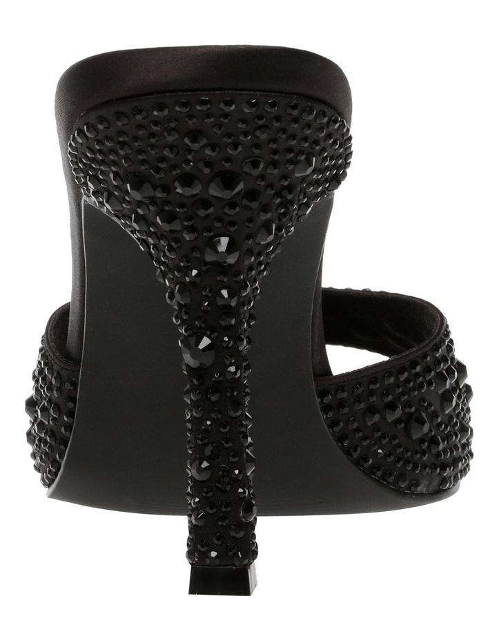Luminary Black Crystal Sandal image 3