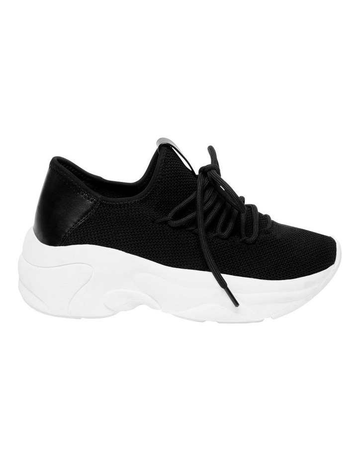 Chatter Black Fabric Sneaker image 1