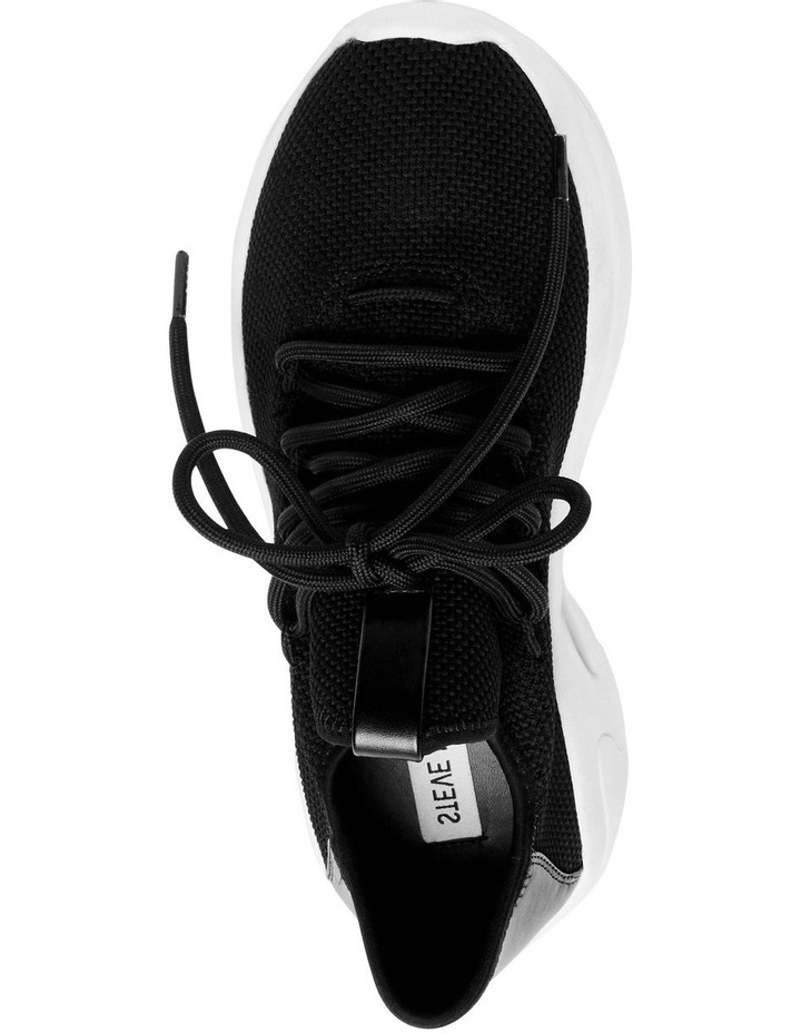 Chatter Black Fabric Sneaker image 2
