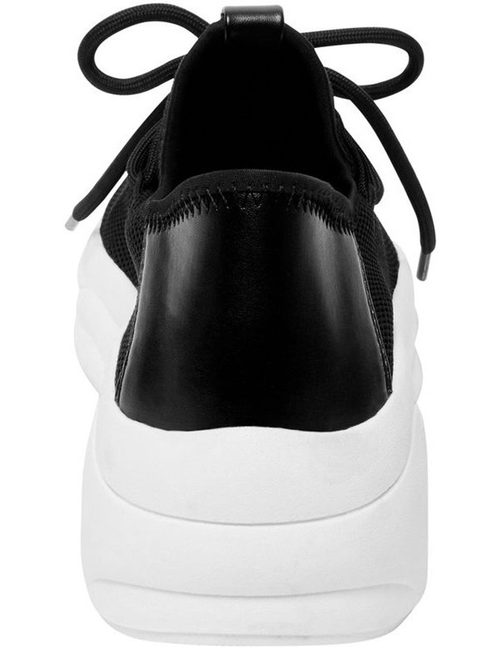 Chatter Black Fabric Sneaker image 3