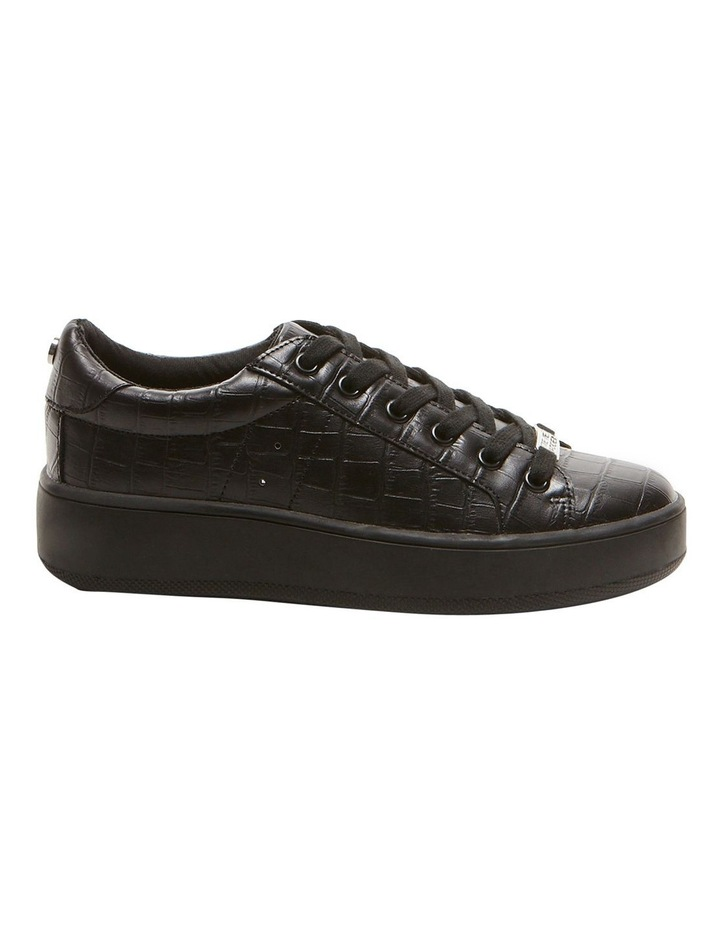Bertie Black Croco Sneaker image 1