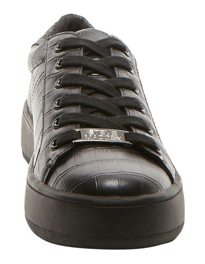 Bertie Black Croco Sneaker image 4