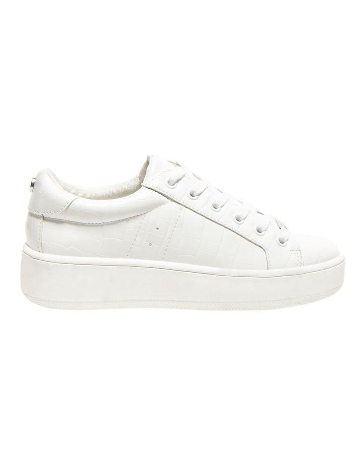 Bertie White Croco Sneaker image 1
