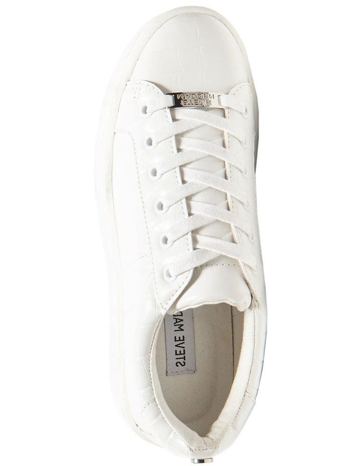 Bertie White Croco Sneaker image 2