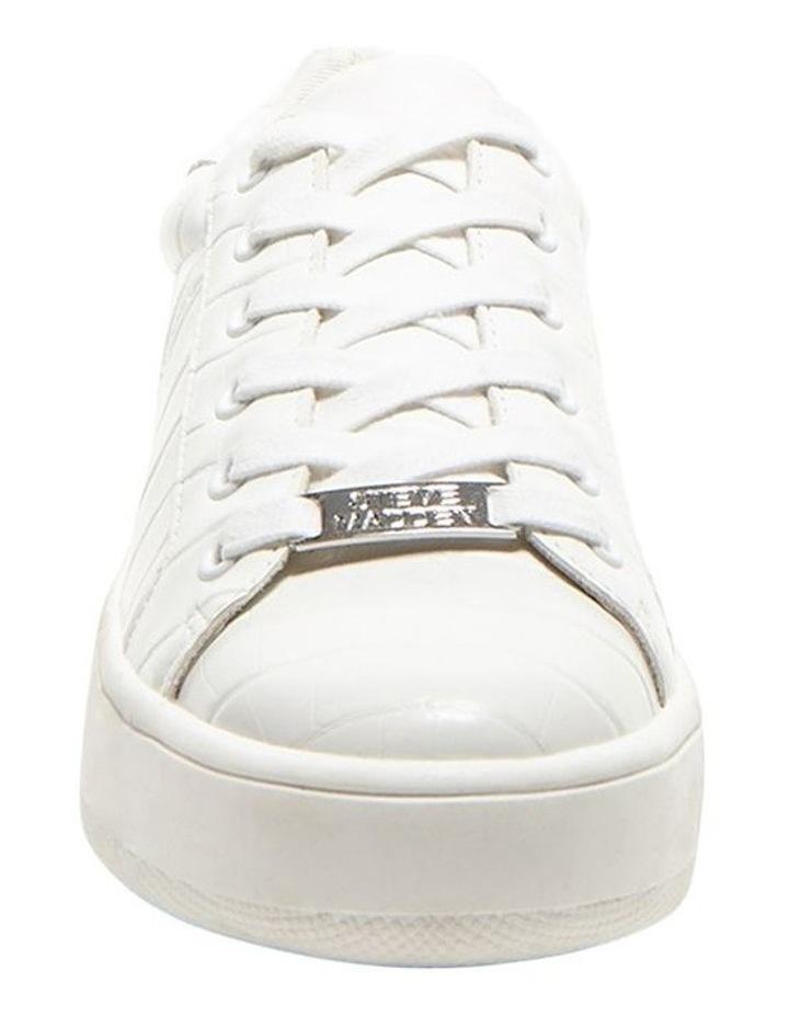 Bertie White Croco Sneaker image 3