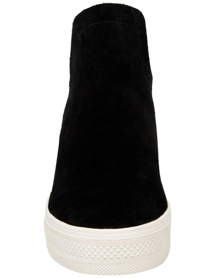 Wrangle Black Suede Sneaker image 3