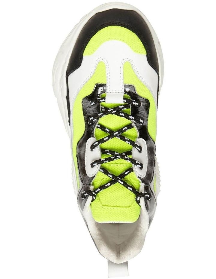 Antonia Neon Yellow Sneaker image 3