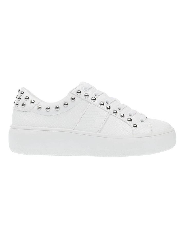 Belle White Snake Sneaker image 1