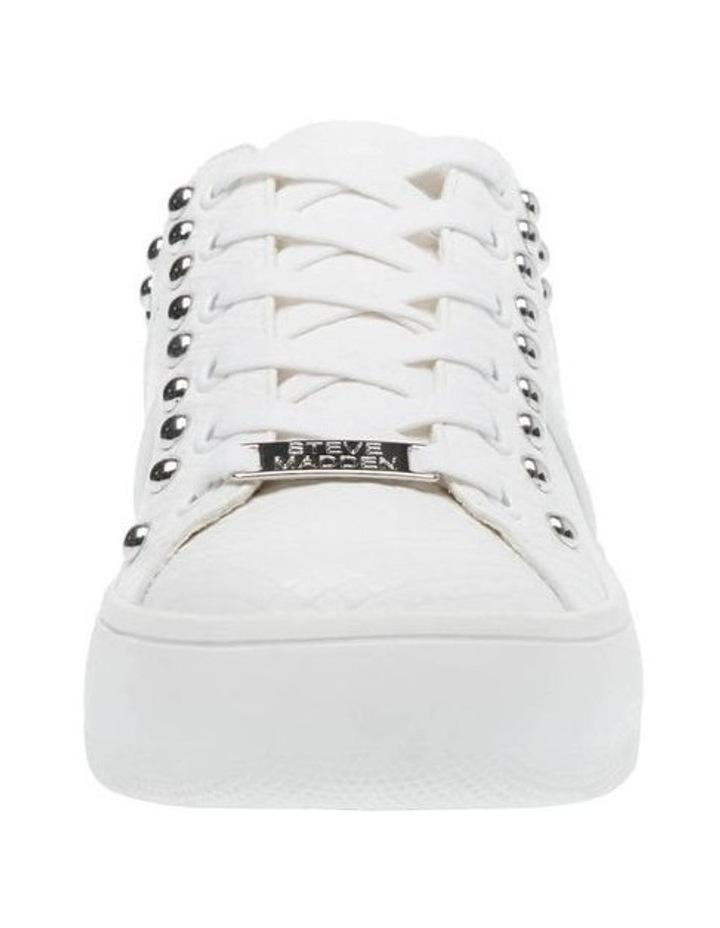 Belle White Snake Sneaker image 2