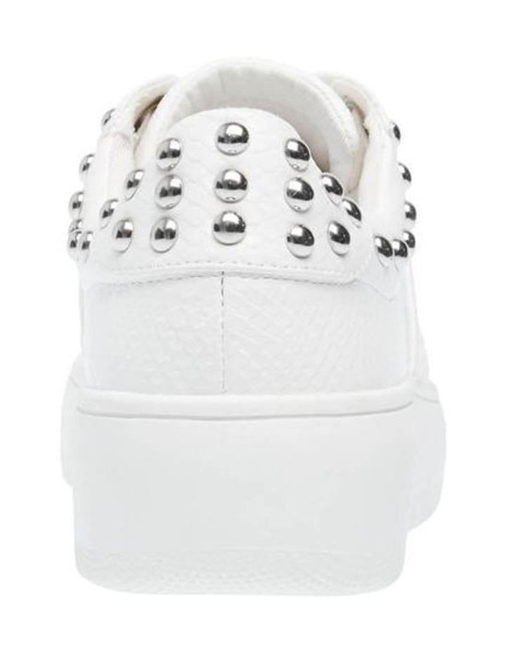 Belle White Snake Sneaker image 3