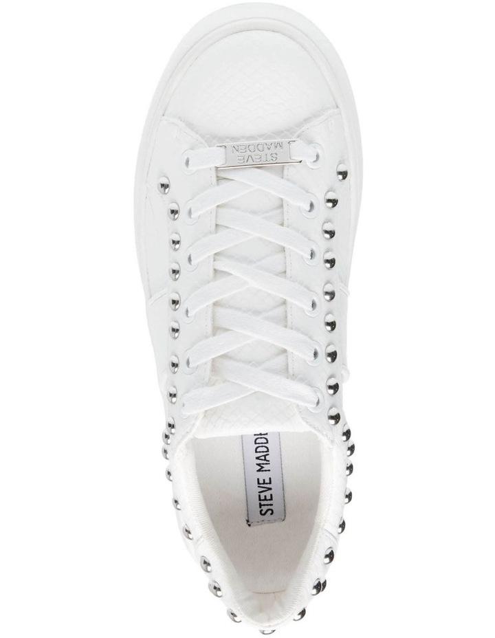 Belle White Snake Sneaker image 4