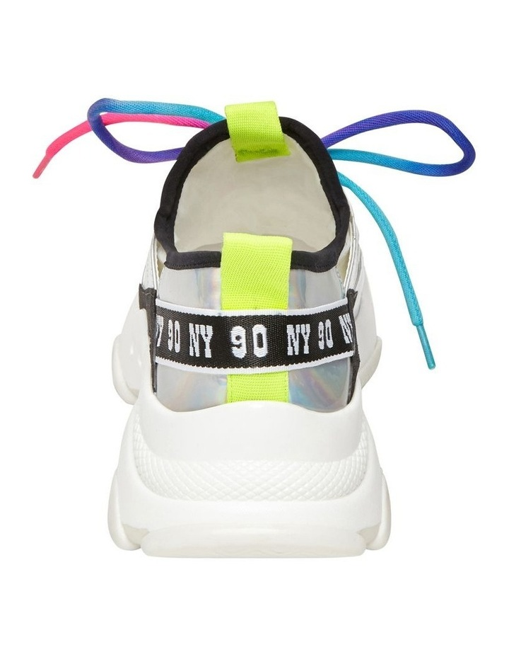 Ajax White Multi Sneaker image 4