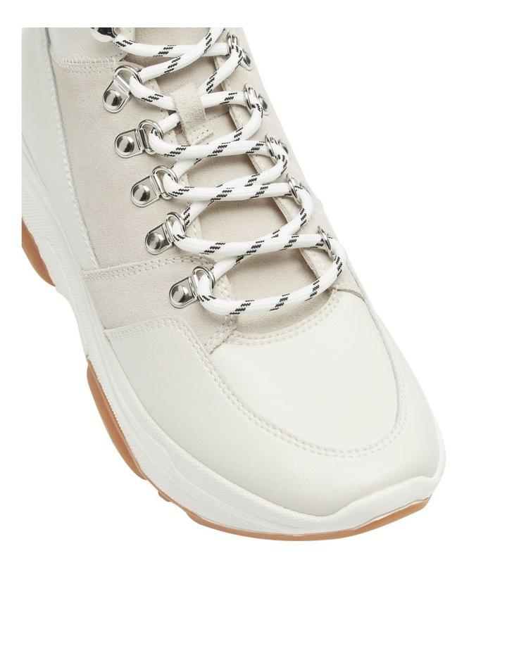 Glorey White Leather image 1
