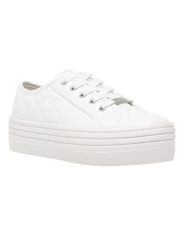 Bobbi-Q White Sneaker image 1