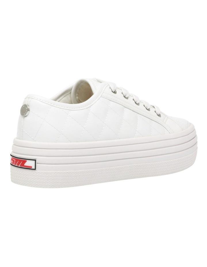 Bobbi-Q White Sneaker image 2
