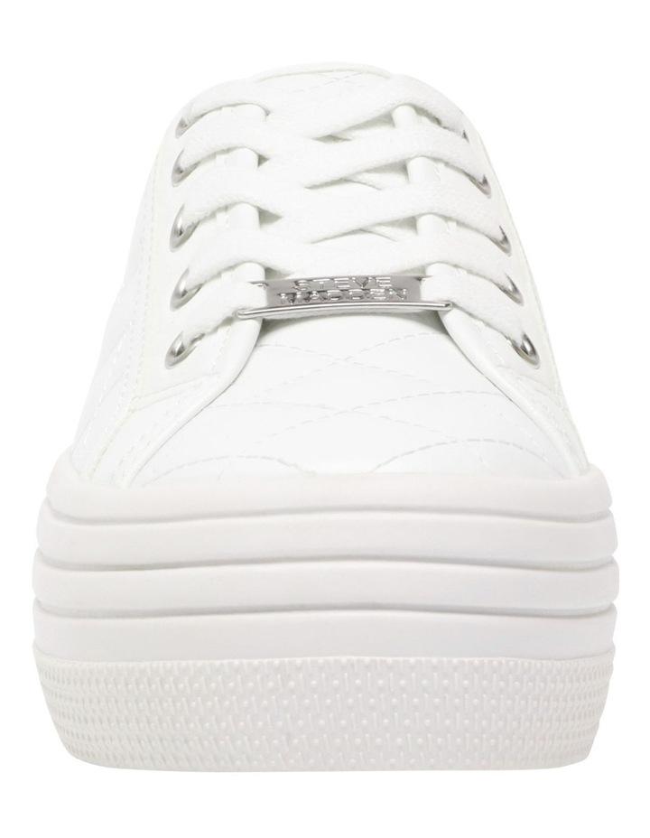 Bobbi-Q White Sneaker image 3