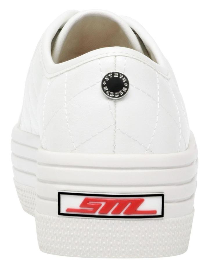 Bobbi-Q White Sneaker image 4