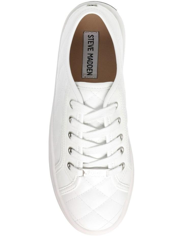Bobbi-Q White Sneaker image 5