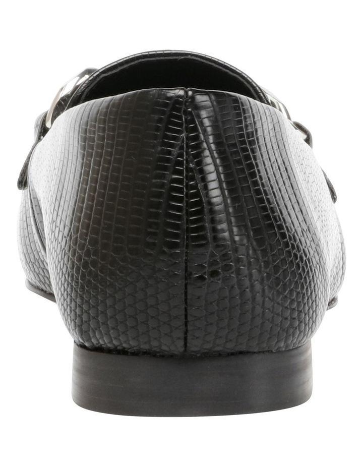 Kayson Black Lizard Loafer image 4