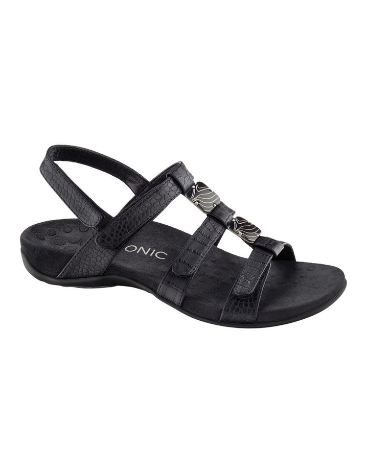 Amber Black Sandal image 1