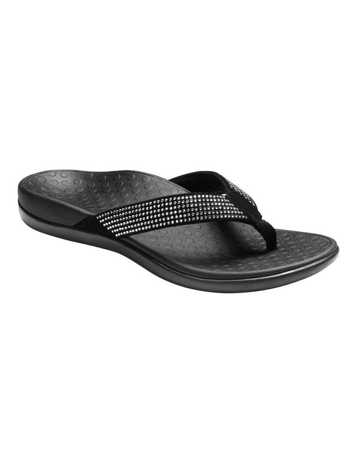 Islander Rhinestone Black Sandal image 1
