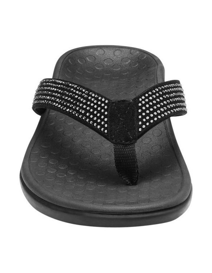 Islander Rhinestone Black Sandal image 3