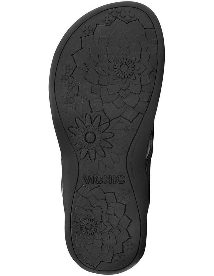 Bella Black Lizard Sandal image 6