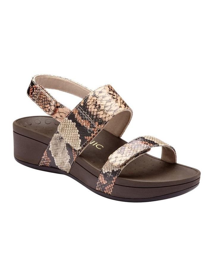 Bolinas Platform Tan Sandal image 1