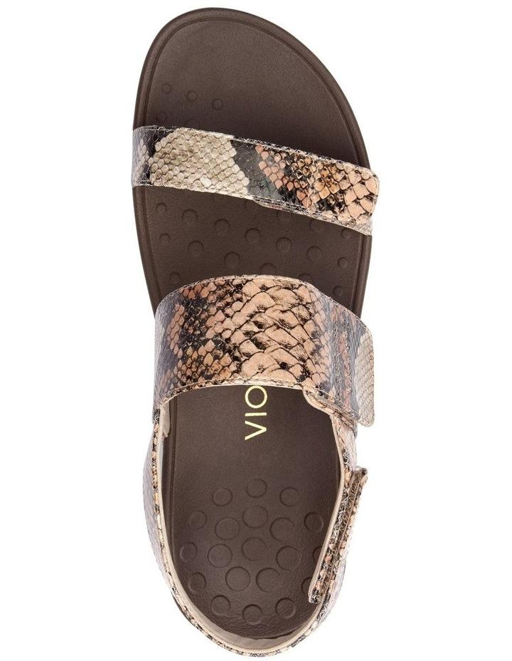 Bolinas Platform Tan Sandal image 5