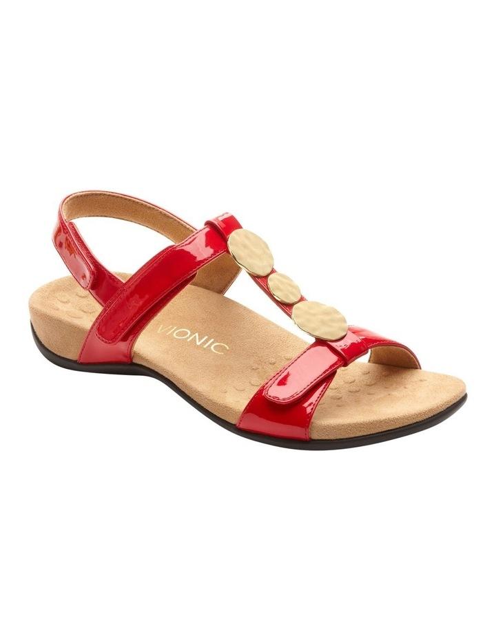 Farra Red Patent Sandal image 1