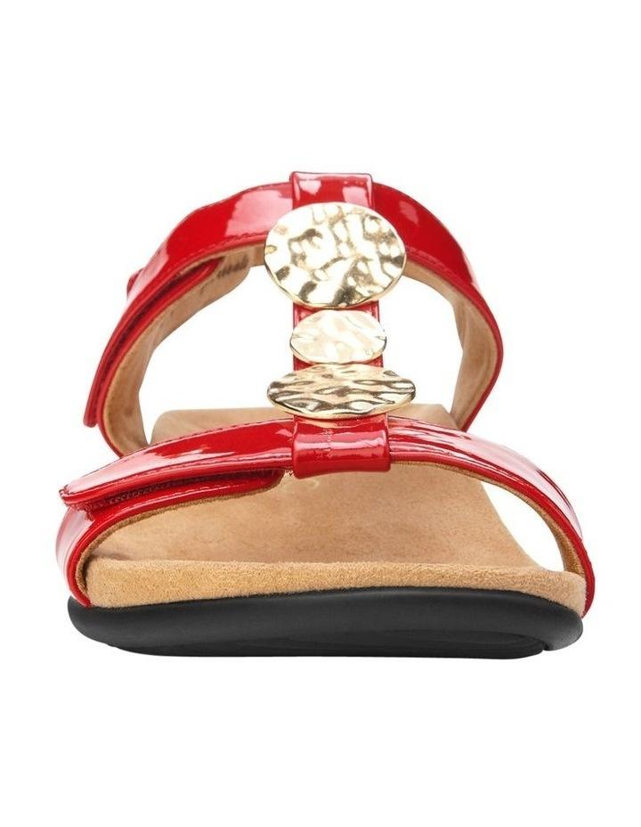 Farra Red Patent Sandal image 4