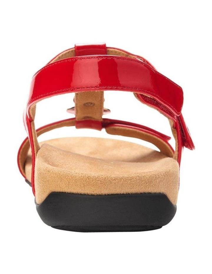 Farra Red Patent Sandal image 5