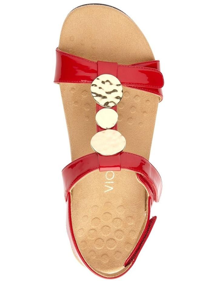 Farra Red Patent Sandal image 6