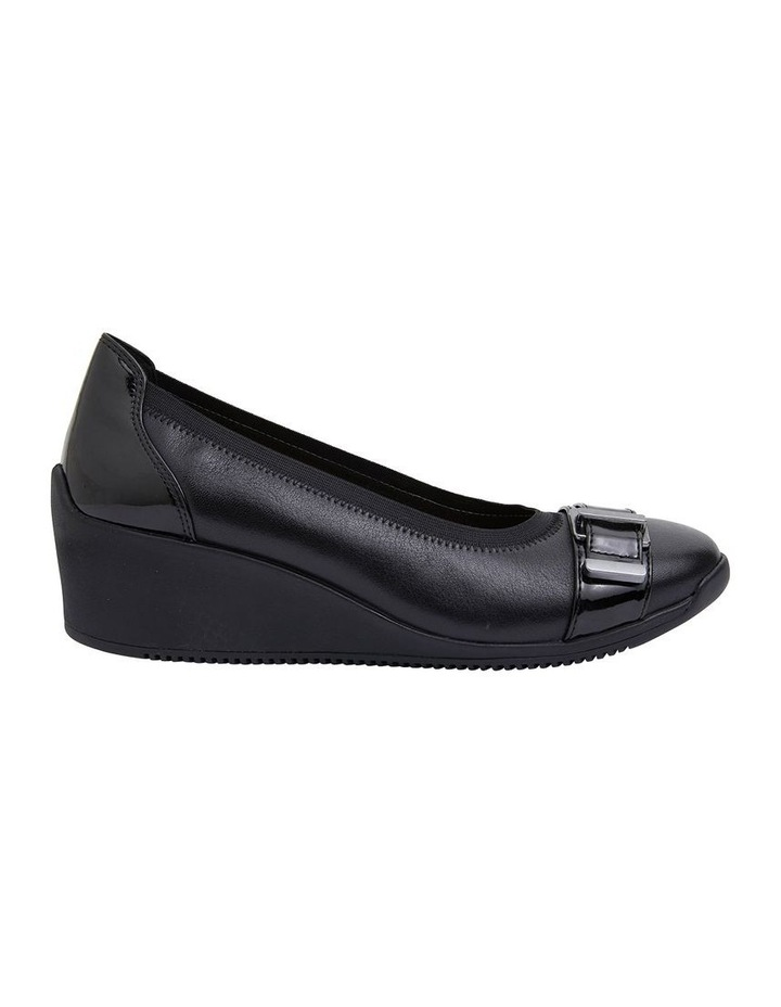 Narita Black Glove Heeled Shoes image 1