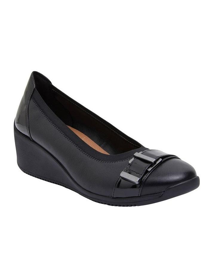 Narita Black Glove Heeled Shoes image 2