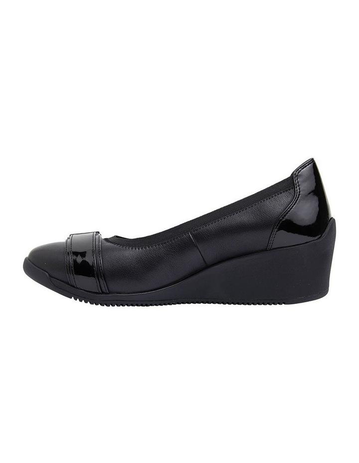 Narita Black Glove Heeled Shoes image 3