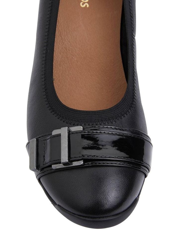 Narita Black Glove Heeled Shoes image 7