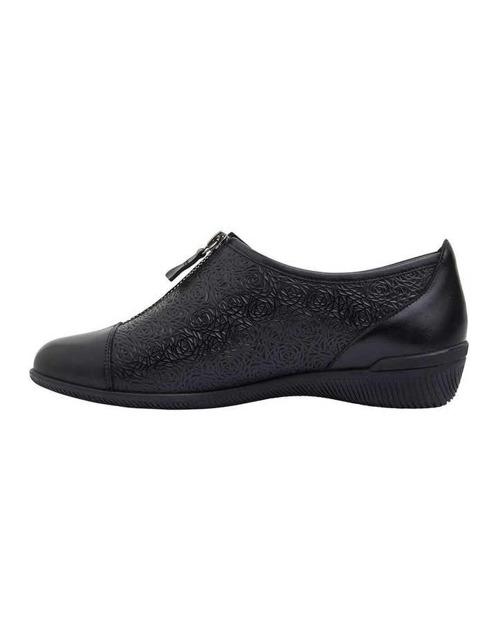 Wiley Black Glove Flat Shoes image 3