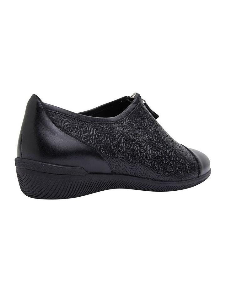 Wiley Black Glove Flat Shoes image 4